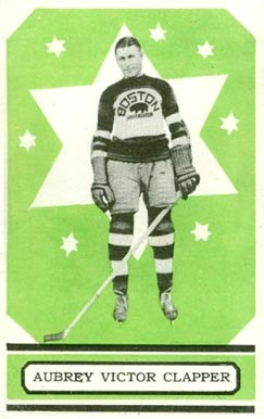 1933 O-Pee-Chee Dit Clapper #8 Hockey Card