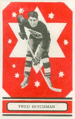 1933 O-Pee-Chee Fred Hitchman #5 Hockey Card