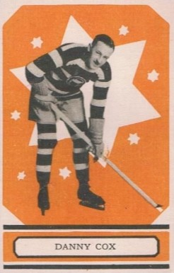 1933 O-Pee-Chee Danny Cox #1 Hockey Card