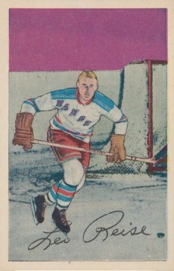 1952 Parkhurst Leo Reise #49 Hockey Card