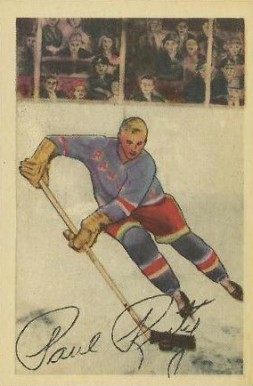 1952 Parkhurst Paul Ronty #24 Hockey Card