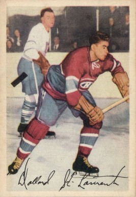 1953 Parkhurst Dollard St. Laurent #23 Hockey Card