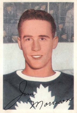 1953 Parkhurst Jim Morrison #15 Hockey Card