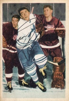 1953 Parkhurst Ron Stewart #9 Hockey Card
