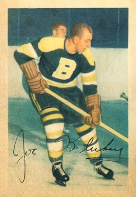 1953 Parkhurst Joe Klukay #94 Hockey Card