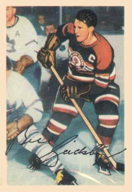 1953 Parkhurst Bill Gadsby #76 Hockey Card