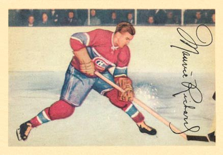 1953 Parkhurst Maurice Richard #24 Hockey Card