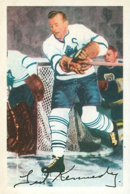 1953 Parkhurst Teeder Kennedy #7 Hockey Card