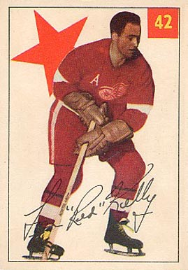 1954 Parkhurst Red Kelly #42 Hockey Card