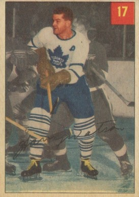 1954 Parkhurst Harry Watson #17 Hockey Card