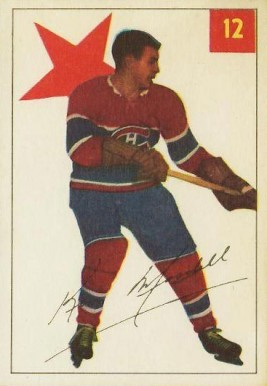 1954 Parkhurst Ken Mosdell #12 Hockey Card