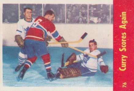 1955 Parkhurst   #76 Hockey Card