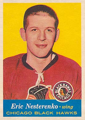 1957 Topps Eric Nesterenko #24 Hockey Card