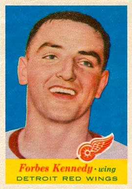 1957 Topps Forbes Kennedy #50 Hockey Card
