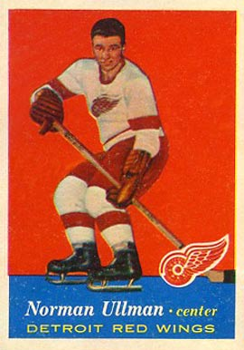 1957 Topps Norm Ullman #46 Hockey Card