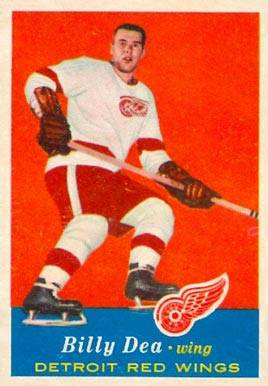 1957 Topps Billy Dea #39 Hockey Card