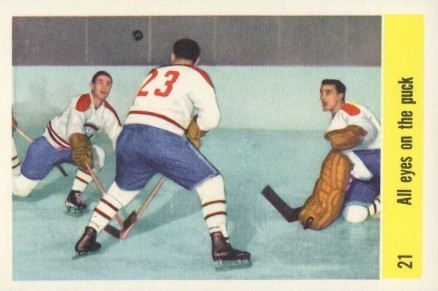 1958 Parkhurst   #21 Hockey Card