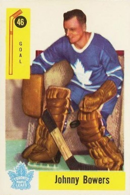1958 Parkhurst Johnny Bower #46 Hockey Card