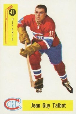 1958 Parkhurst Jean-Guy Talbot #41 Hockey Card