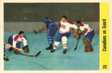 1958 Parkhurst   #35 Hockey Card