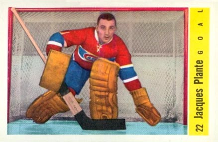 1958 Parkhurst Jacques Plante #22 Hockey Card