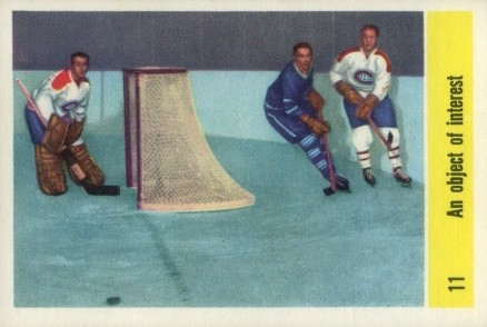1958 Parkhurst An Object Of Interest #11 Hockey Card
