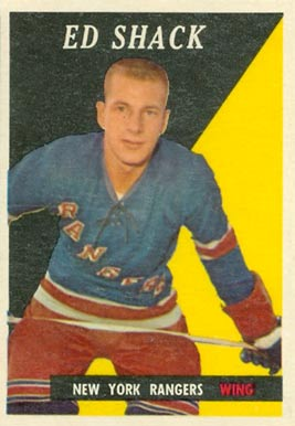 1958 Topps Eddie Shack #30 Hockey Card