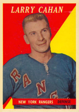 1958 Topps Larry Cahan #23 Hockey Card