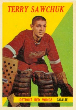 1958 Topps Terry Sawchuk #2 Hockey Card