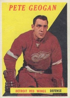 1958 Topps Pete Goegan #47 Hockey Card