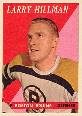 1958 Topps Larry Hillman #25 Hockey Card