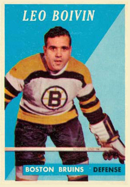 1958 Topps Leo Boivin #20 Hockey Card