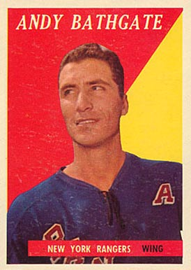1958 Topps Andy Bathgate #21 Hockey Card