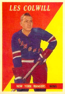 1958 Topps Les Colwill #19 Hockey Card