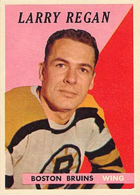 1958 Topps Larry Regan #10 Hockey Card