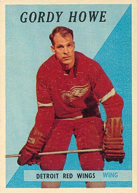 1958 Topps Gordie Howe #8 Hockey Card