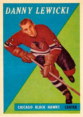 1958 Topps Danny Lewicki #6 Hockey Card