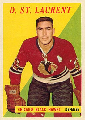 1958 Topps Dollard St. Laurent #5 Hockey Card