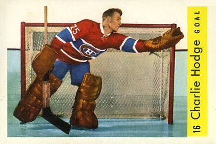 1959 Parkhurst Charlie Hodge #16 Hockey Card