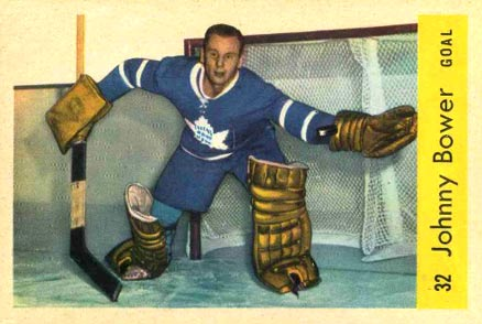 1959 Parkhurst Johnny Bower #32 Hockey Card