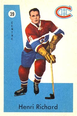 1959 Parkhurst Henri Richard #39 Hockey Card