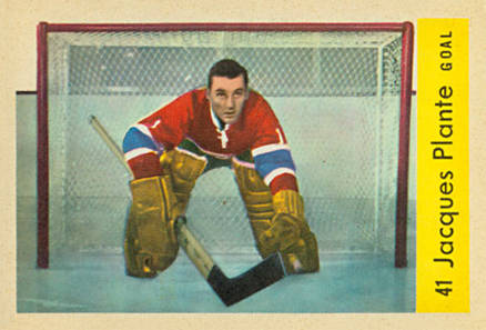 1959 Parkhurst Jacques Plante #41 Hockey Card