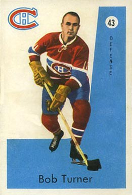 1959 Parkhurst Bob Turner #43 Hockey Card