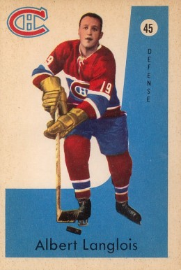 Albert Langlois Hockey Cards