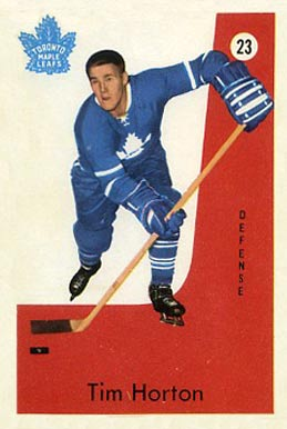 1959 Parkhurst Tim Horton #23 Hockey Card