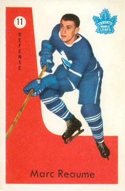 1959 Parkhurst Marc Reaume #11 Hockey Card
