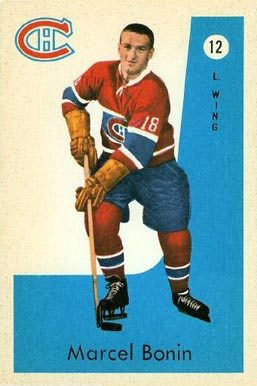 1959 Parkhurst Marc Reaume #12 Hockey Card