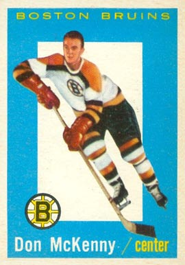 1959 Topps Don McKenney #9 Hockey Card