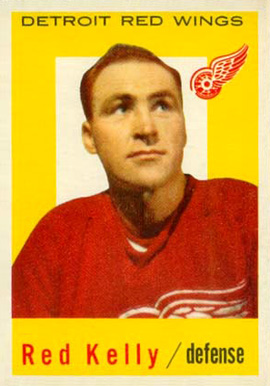 1959 Topps Red Kelly #65 Hockey Card