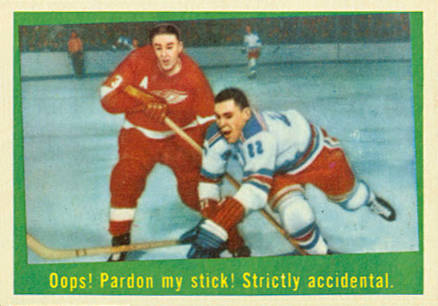 1959 Topps   #18 Hockey Card